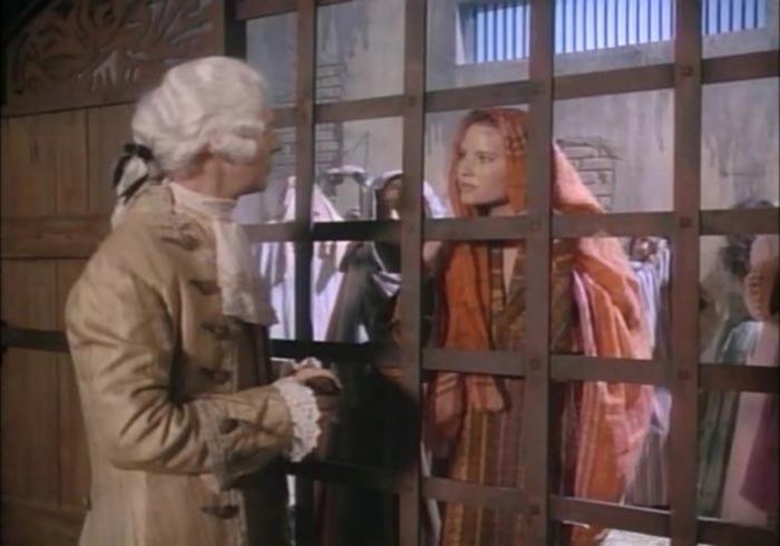 Кадр из фильма «Сила страсти» («Фаворитка»), снятого в 1989 года по мотивам версии о Накшидиль-Эме